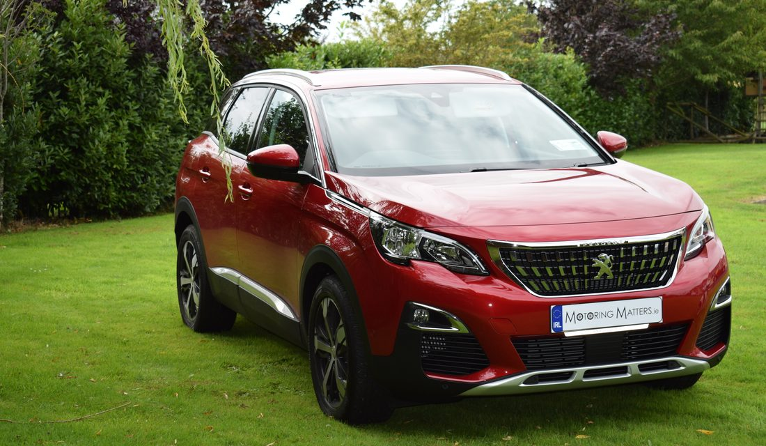Ireland's motoring journalists crown the Peugeot 3008 as Irish Car of the Year 2018