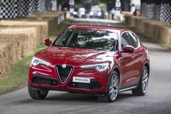 NEW ALFA ROMEO STELVIO SUV ON THE WAY