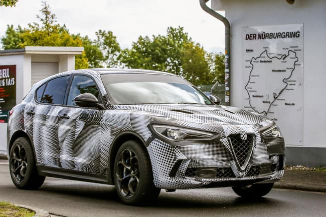 Alfa Romeo Stelvio sets new SUV speed record