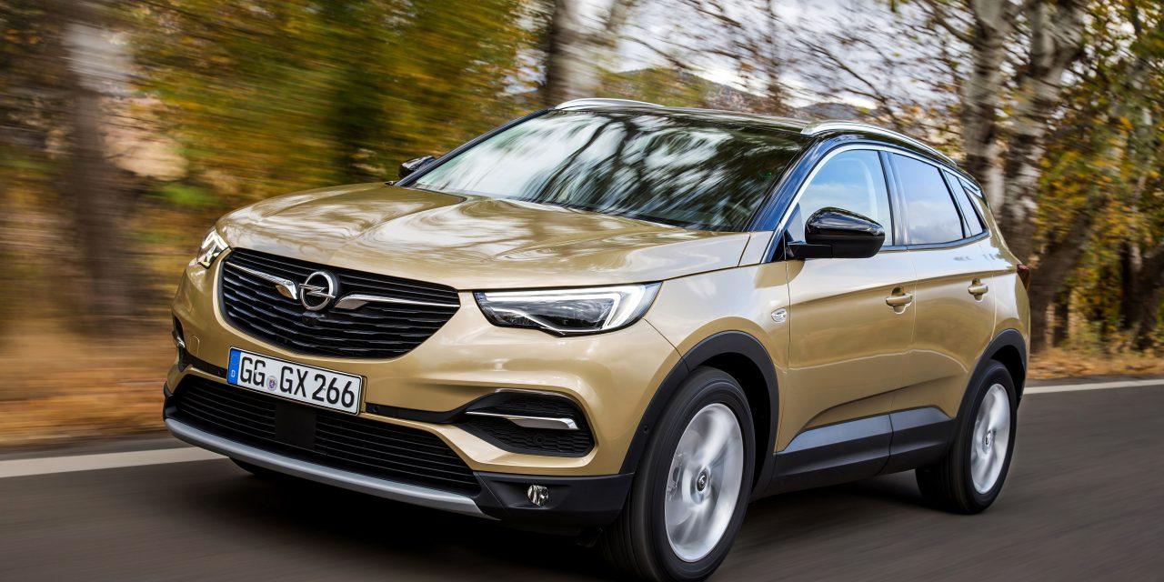 Opel's New Grandland X arrives in Ireland