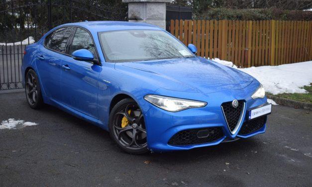 New Alfa Romeo Giulia Veloce – Sporty & Fun