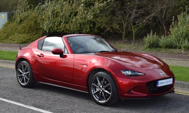 Mazda's New MX-5 RF (Retractable Fastback)