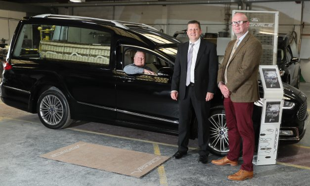 New Ford Hybrid Hearse – 'Go Out Of This Life In Style'