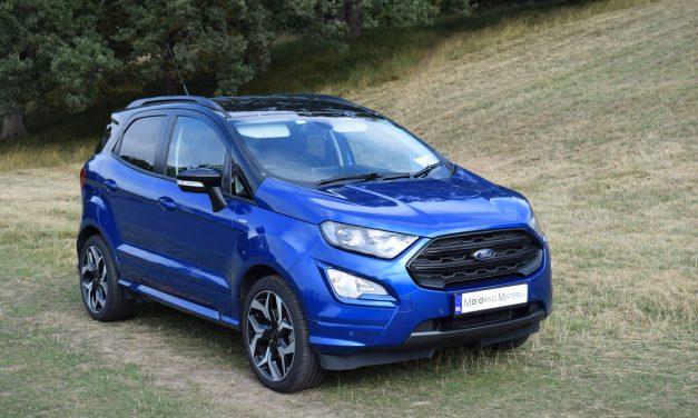 New Ford EcoSport ST-Line 1.0-litre EcoBoost