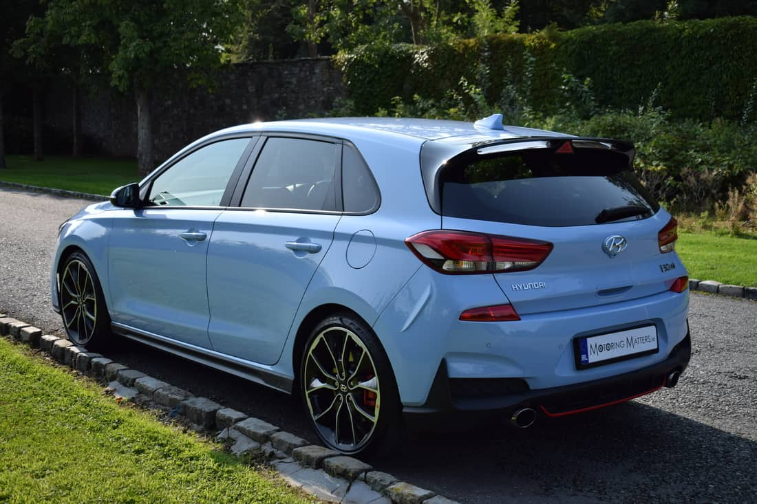 new hyundai i30n pace grace motoring matters. Black Bedroom Furniture Sets. Home Design Ideas