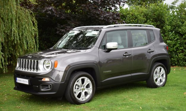 New JEEP Renegade 1.4-litre Petrol 2WD Limited