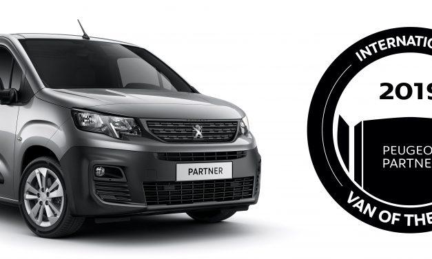 New Peugeot Partner – International Van of the Year 2019