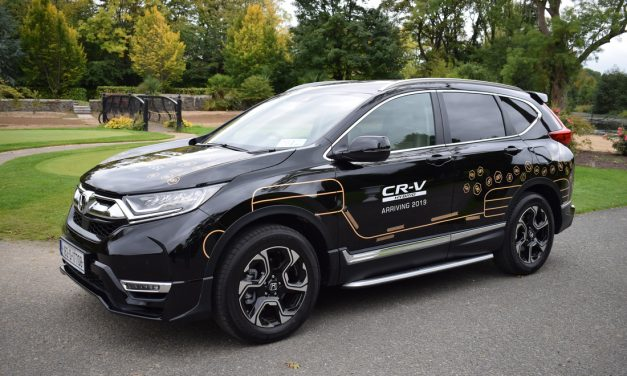 FIRST DRIVE OF THE ALL-NEW HONDA CR-V