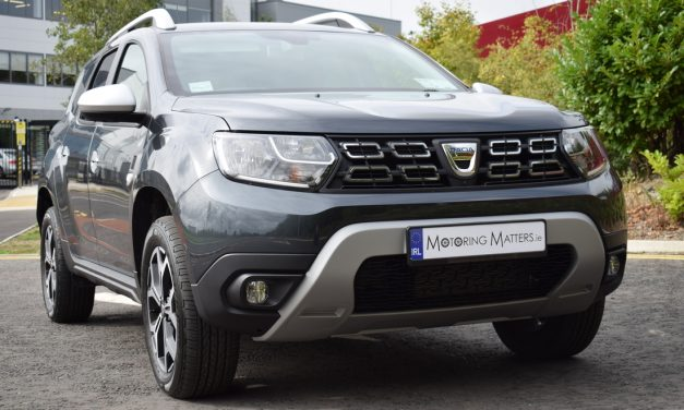 All-New Dacia Duster SUV.