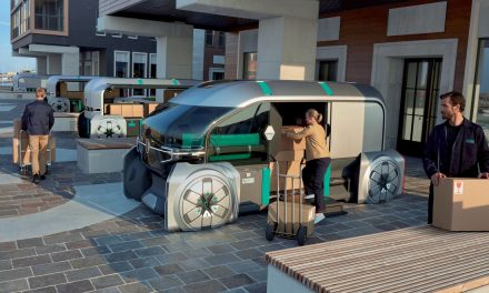 RENAULT'S DELIVERY VAN OF THE FUTURE.