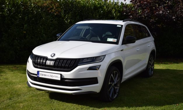 New Škoda Kodiaq 'SportLine' On Test.