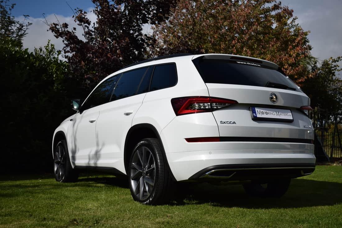 Suv With Third Row >> New Škoda Kodiaq 'SportLine' On Test. | Motoring Matters