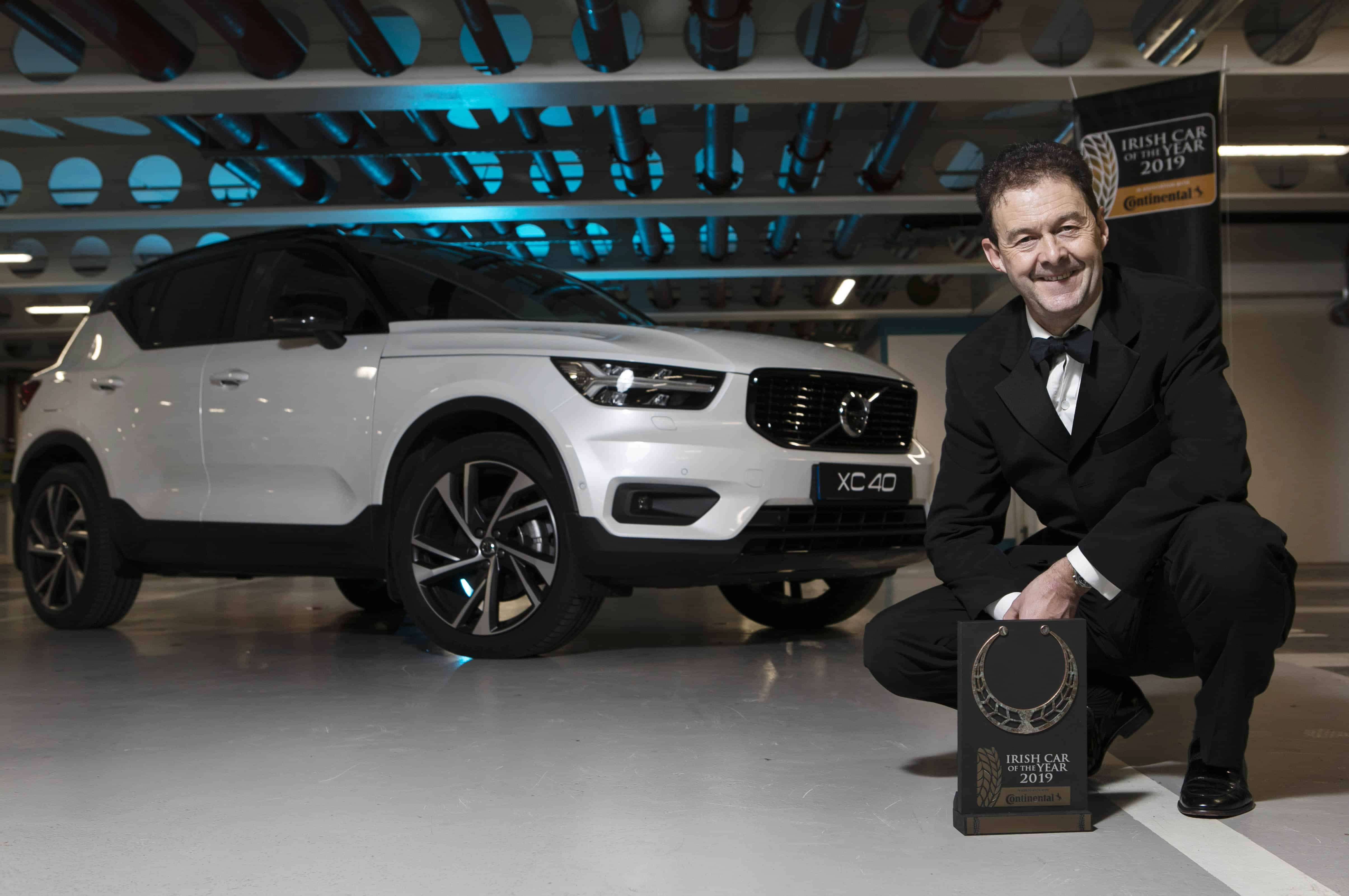 f78bc2eb78a97d Ireland s motoring journalists crown the Volvo XC40 as Irish Car of the Year  2019