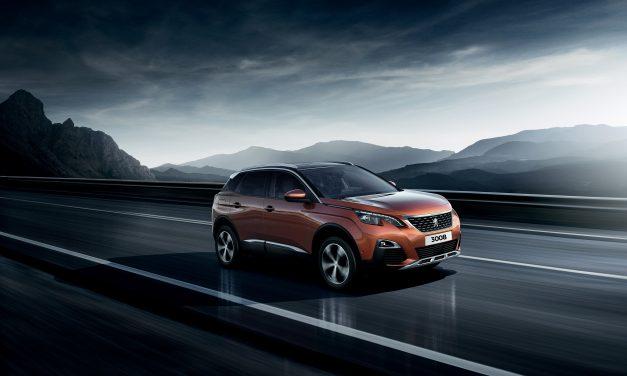 Price Freeze on Multi-Award-Winning Peugeot 3008 SUV.