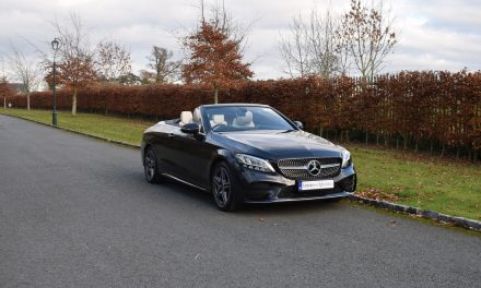 Stunning New Mercedes-Benz C200 AMG-Line Cabriolet Automatic.