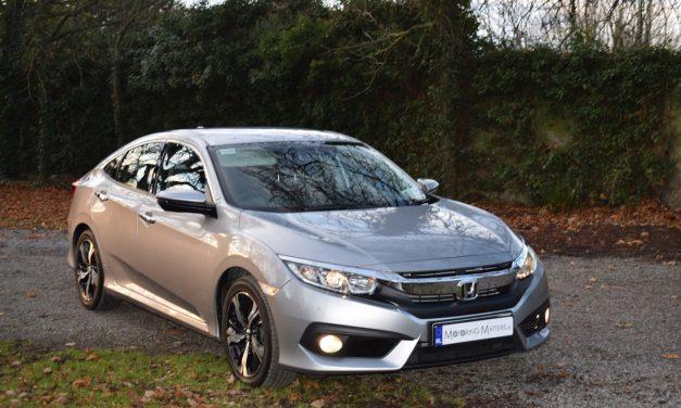 All-New Honda Civic Four Door Sedan – Spaciousness With Style.