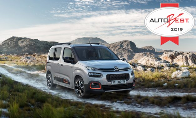 New Citroën Berlingo Wins 2019 Autobest Award.
