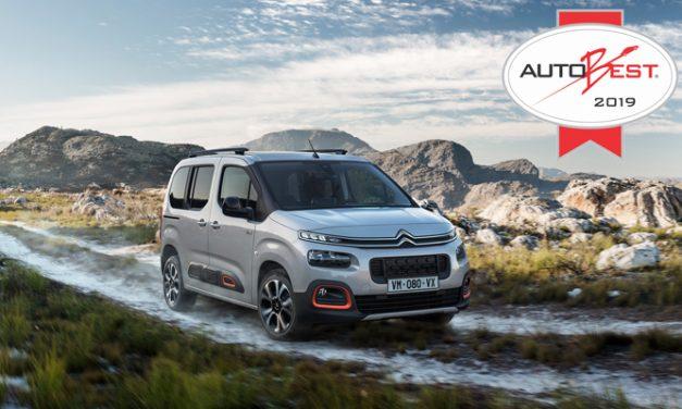 New Citroën Berlingo Wins 2019 Autobest Award.