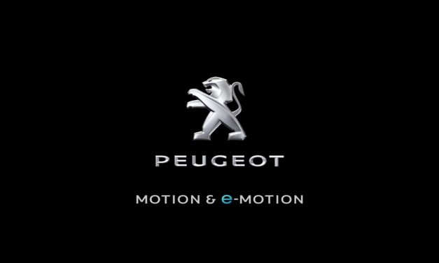 peugeot launched new brand signature.