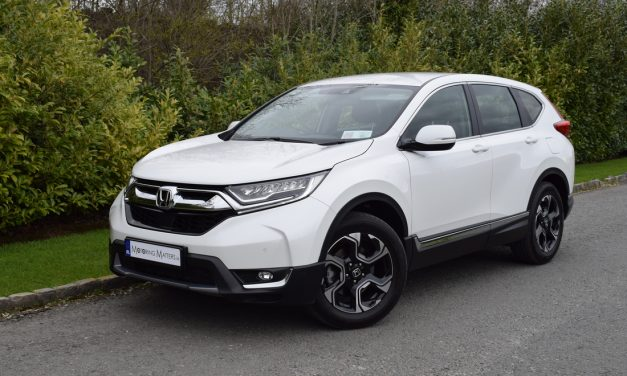 New Honda CR-V 1.5-Litre (Petrol) VTEC Turbo 'Lifestyle' 2WD On Test.