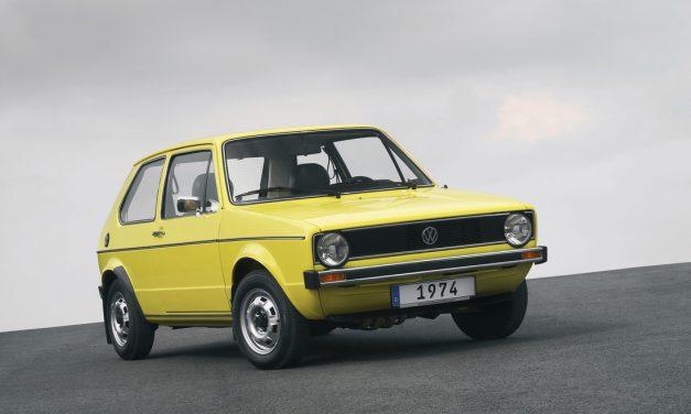 Volkswagen Golf Celebrates 45 Years (1974-2019)