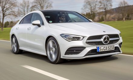 New Mercedes-Benz CLA arrives in Ireland.