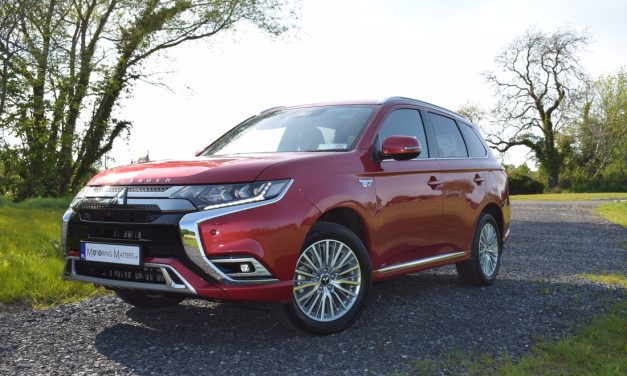 New Mitsubishi Outlander PHEV Charges On In Style.