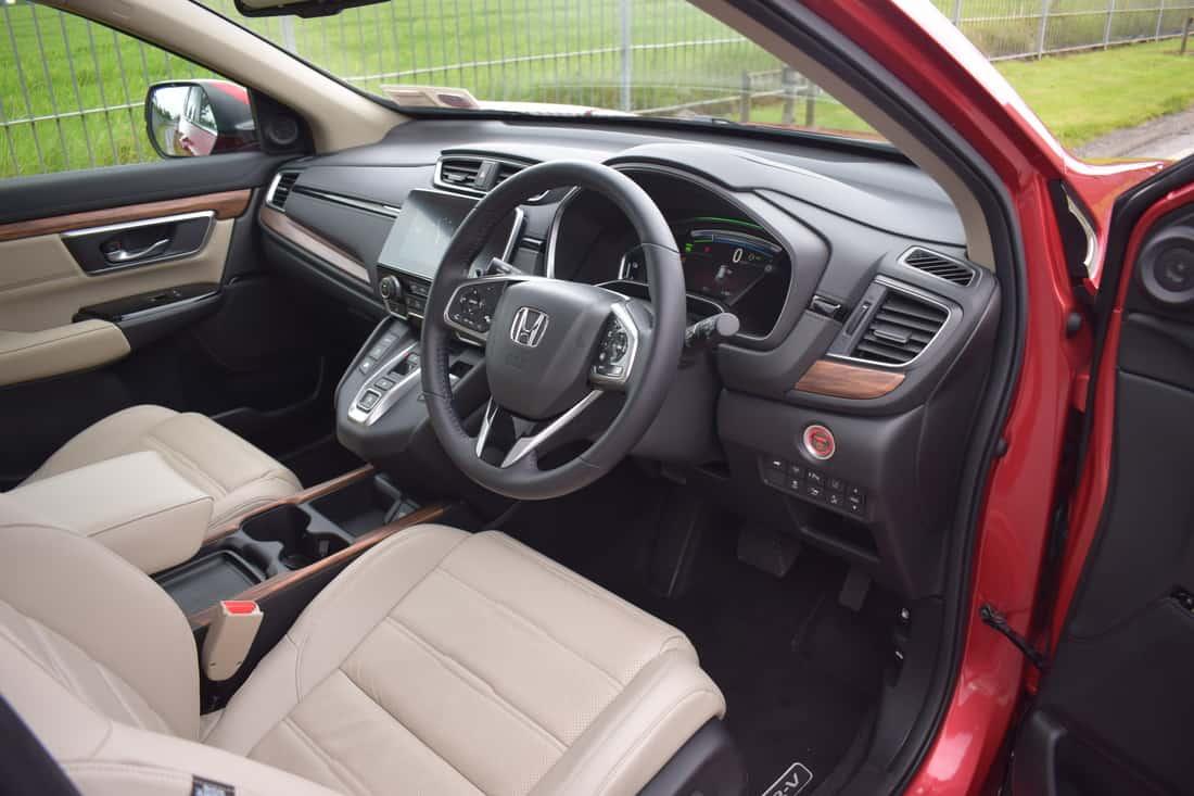 New Honda CR-V HYBRID