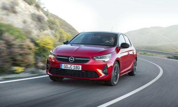 Sleek New Opel Corsa is Aerodynamically Efficient.