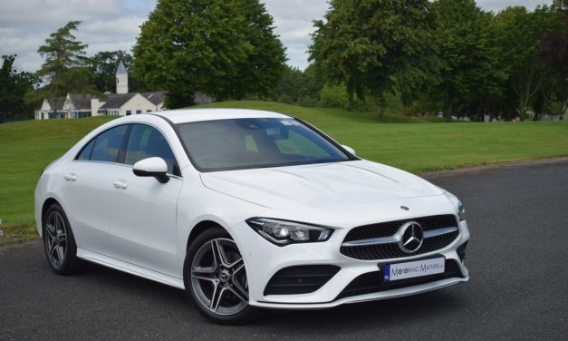 New Mercedes-Benz CLA 180 AMG Line Coupé Automatic On Test.