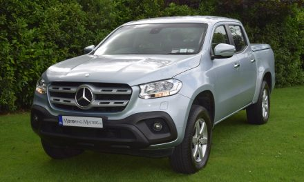 New Mercedes-Benz X-Class (X220d) Double-Cab Pick-Up.