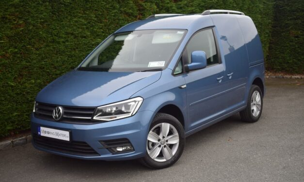 Fourth Generation VW CADDY PANEL VAN MEANS BUSINESS.