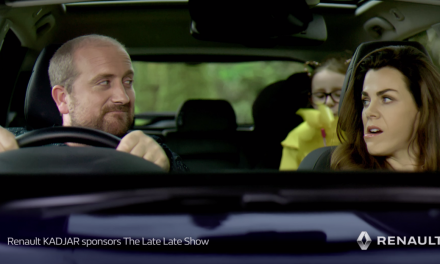 RENAULT CONTINUE SPONSORSHIP OF THE LATE LATE SHOW.