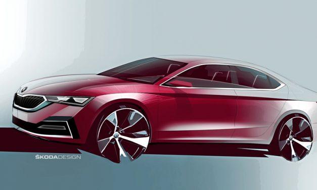 First Glimpse of New Škoda Octavia.