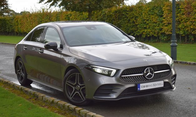 All-New Mercedes-Benz A-Class Saloon (A180d) AMG Line Review.