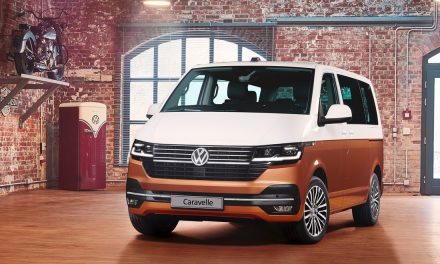 VW Caravelle – Design Innovation Award Winner.