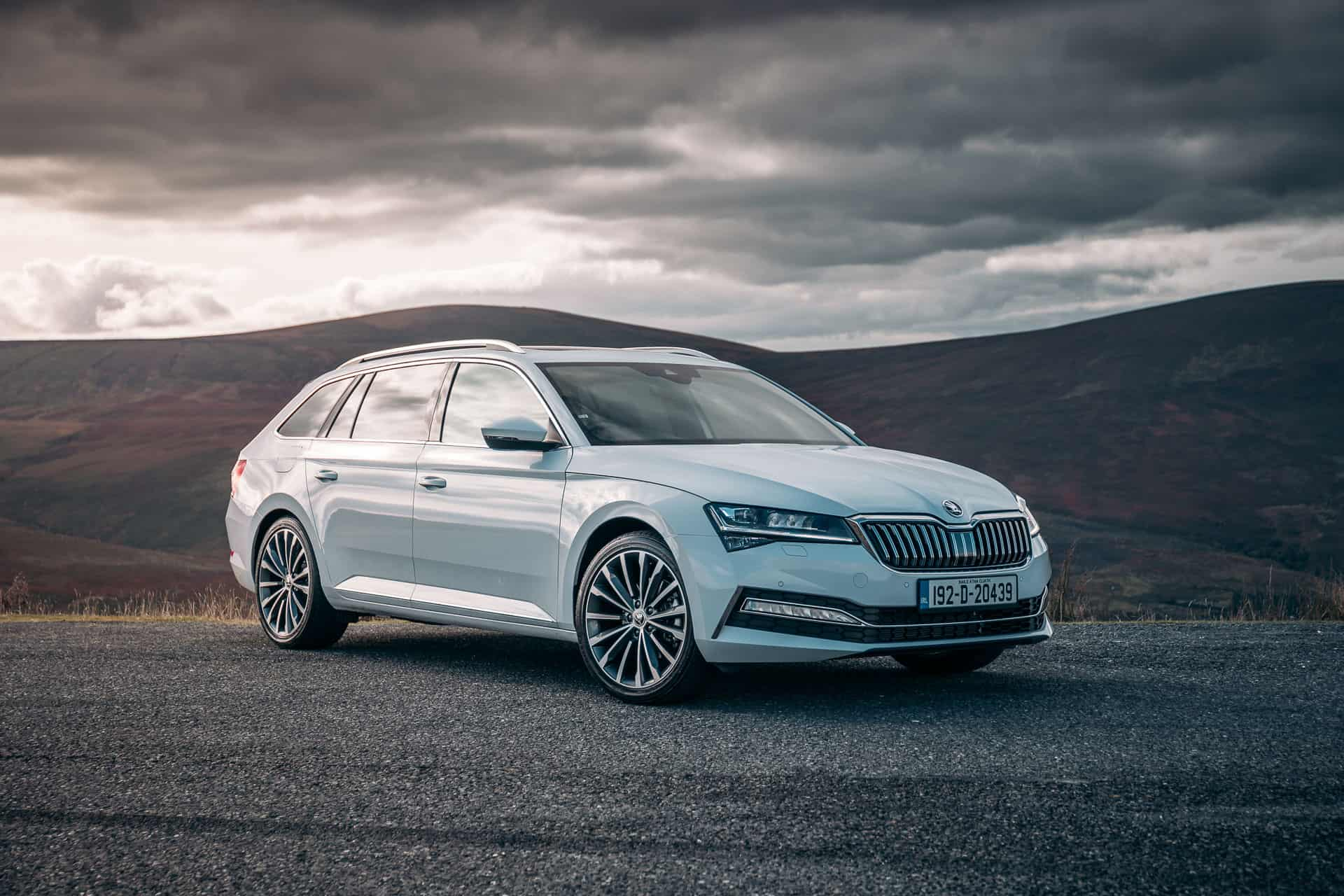 New Škoda Superb Kombi