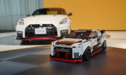 THE LEGO GROUP BRINGS ICONIC NISSAN GT-R NISMO TO LIFE IN BRICKS.