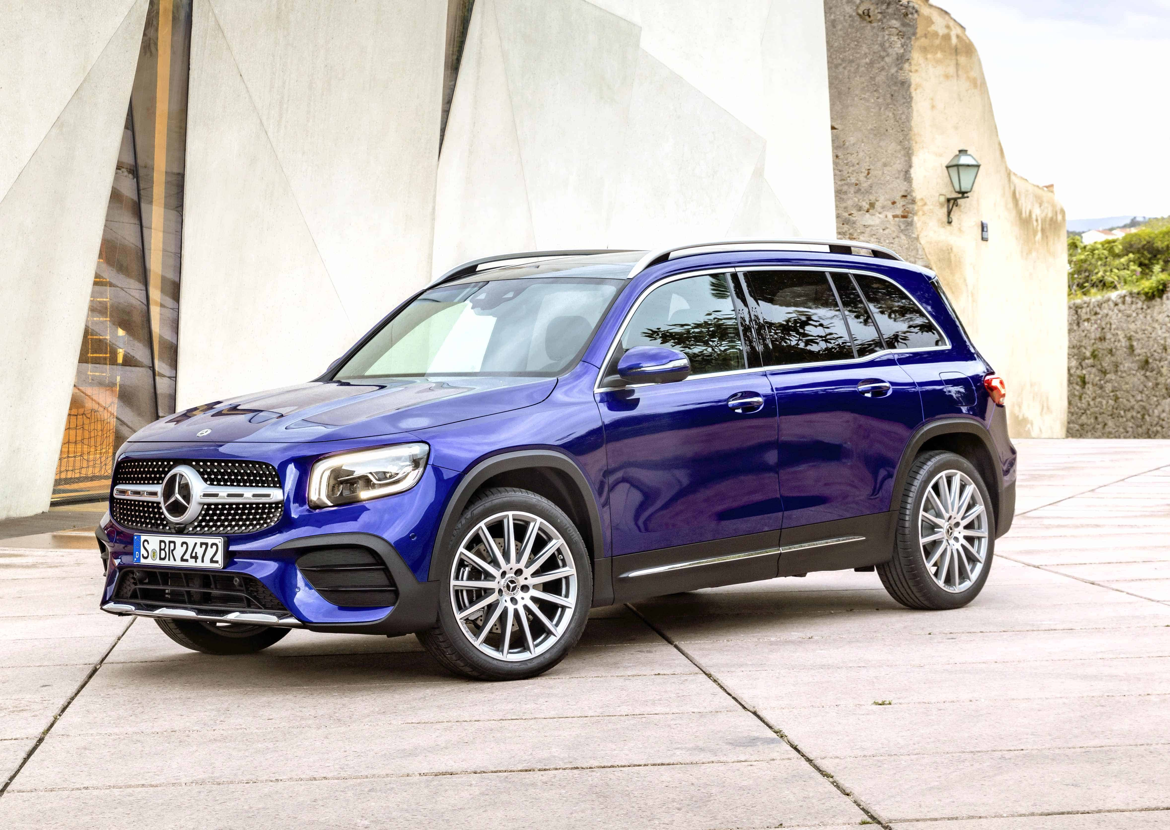 The new Mercedes-Benz GLB compact SUV