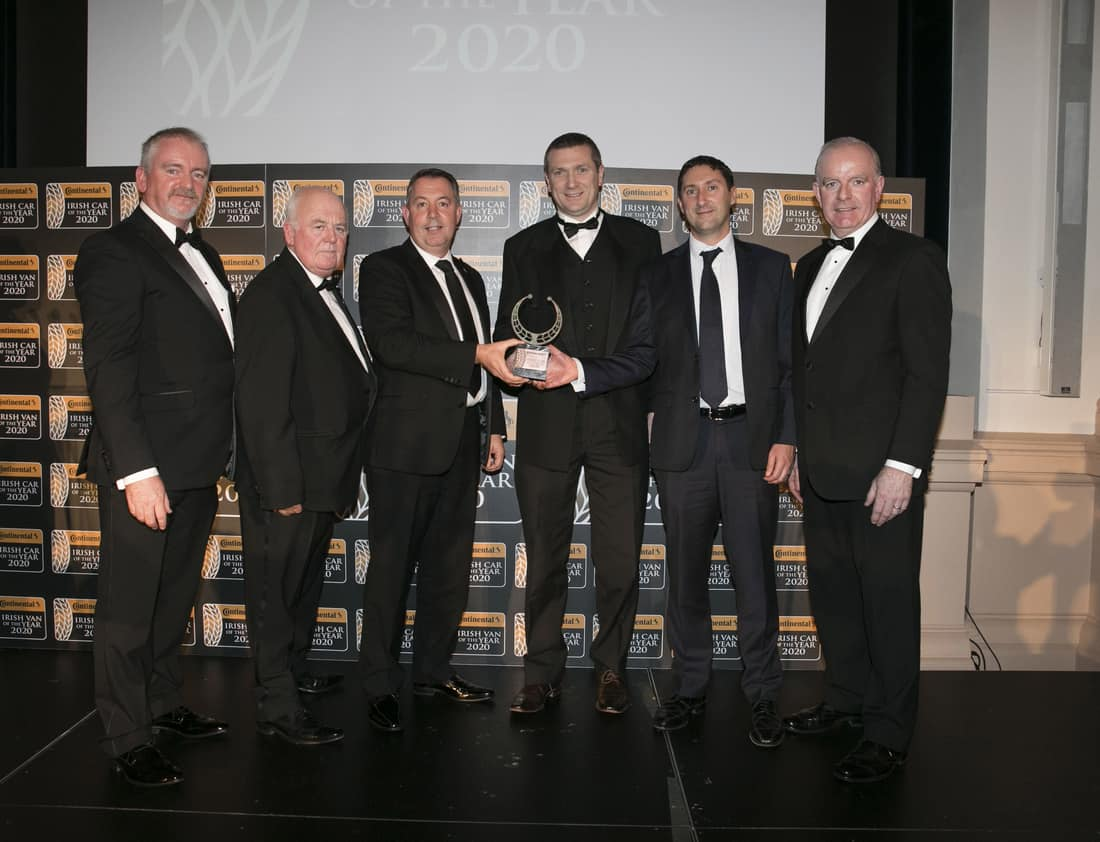 Continental Tyres Irish Car of the Year 2020 Award. .Photo Chris Bellew /Fennell Photography Copyright 2019