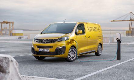 New Opel Vivaro-e LCV For 2020.