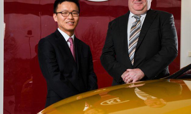 New Managing Director at KIA Motors Ireland.