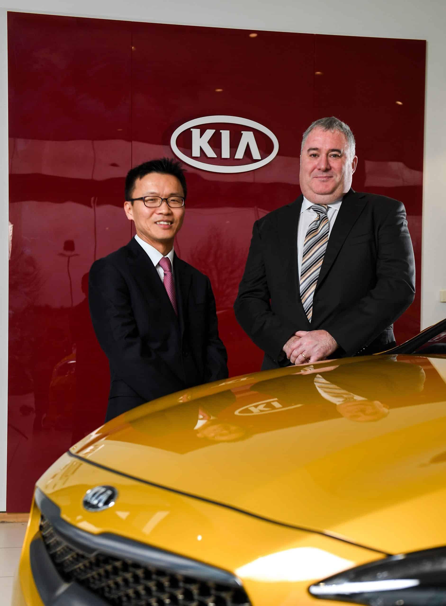Ronan Flood Appointed MD of Kia Motors Ireland