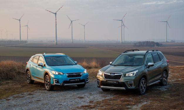 Major Euro NCAP Award For The New Subaru Forester e-BOXER SUV.
