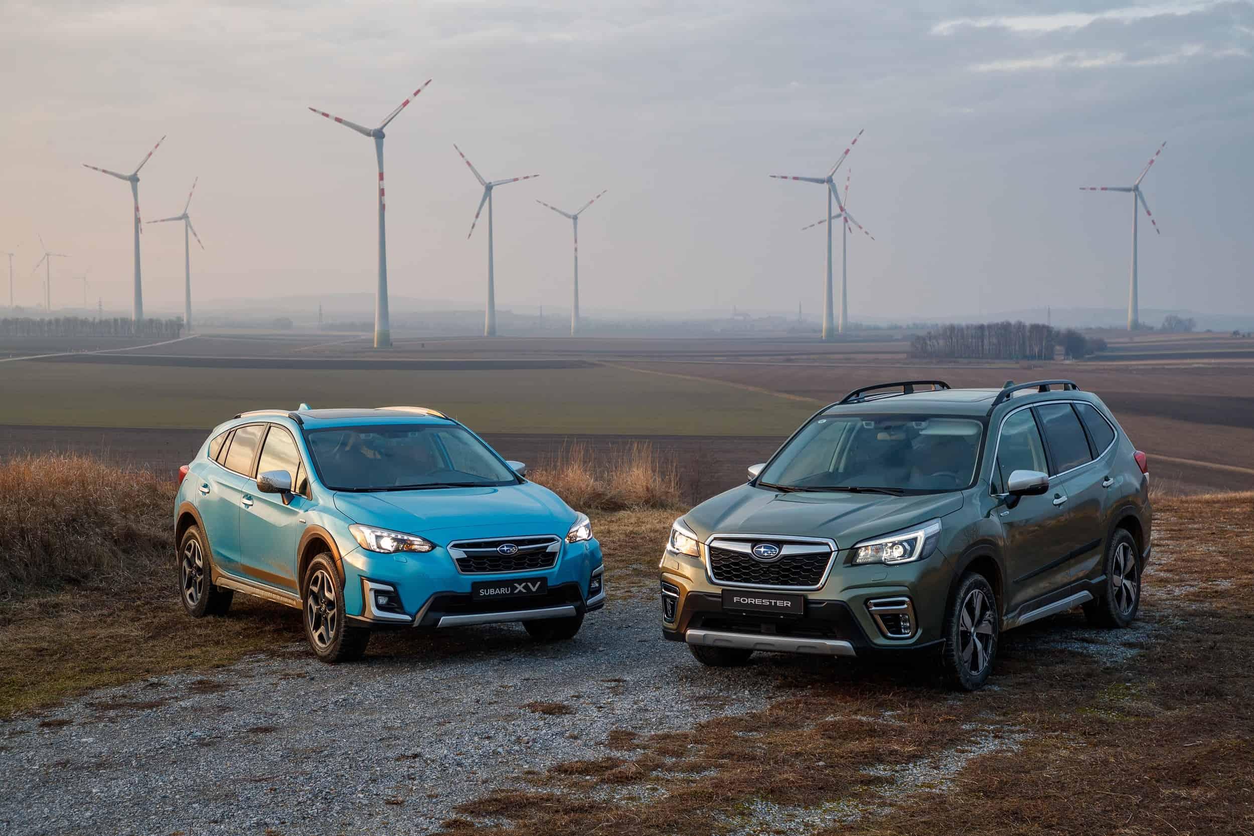 Subaru Forester and XV e-BOXER (1)