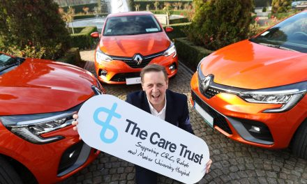 The Care Trust  & The All-New Renault Clio- A Winning Team.