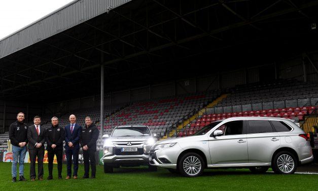 Mitsubishi Motors Ireland Continue Their Sponsorship Of Bohemians F.C.
