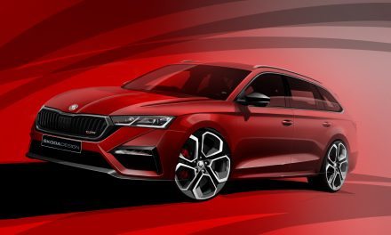 Škoda Teases First Sketches Of The New Octavia RS iV.