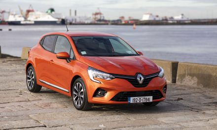 Ireland's Favourite Small Car in January 2020 – The All-New Renault Clio.