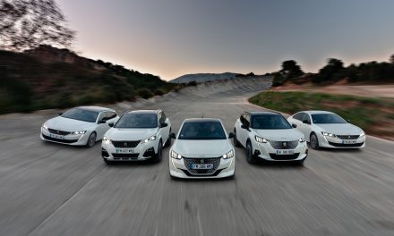 PEUGEOT's Electrified Range for 2020.